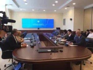 Наблюдатели от МПА СНГ посетили ЦИК Республики Казахстан и горизбирком Нур-Султана
