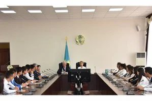 Студенты Республики Казахстан соревнуются в знании избирательного права