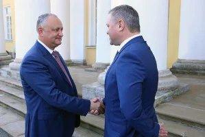 Дмитрий Кобицкий провел встречу с Президентом Республики Молдова Игорем Додоном