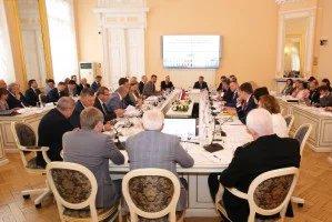 В Таврическом дворце состоялось совместное заседание организационных комитетов по подготовке и проведению VI Форума регионов Беларуси и России