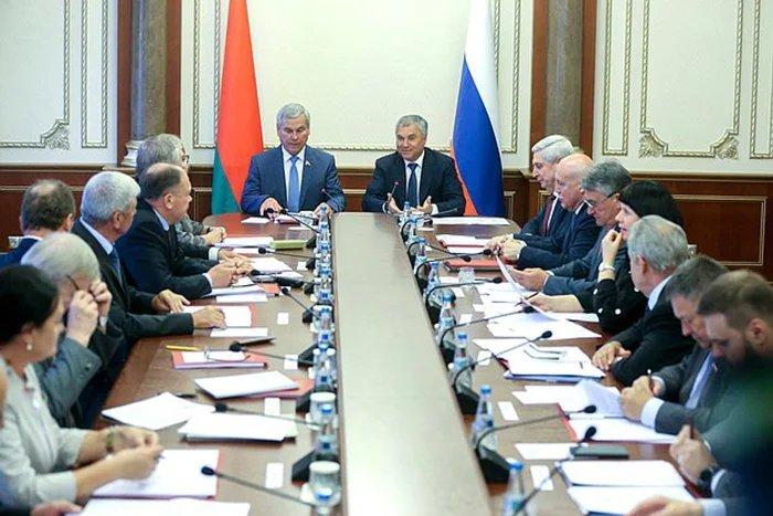 56-я сессия Парламентского Собрания Союза Беларуси и России проходит в Минске