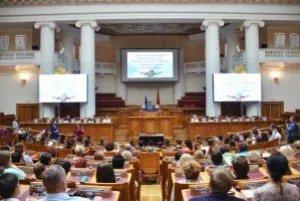 В Таврическом дворце вручили выпускные аттестаты и нагрудные знаки воспитанникам кадетских классов ФСО России