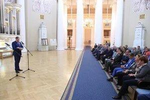Представители дипломатического корпуса Санкт-Петербурга посетили Таврический дворец в преддверии Международного дня парламентаризма