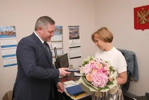 Дмитрий Кобицкий поздравил Санкт-Петербургский филиал МТРК «Мир» с юбилеем