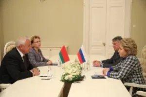 Валентина Матвиенко: Синхронизация законодательства — необходимое условие для углубления экономического сотрудничества
