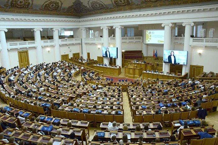 Региональное отделение Фонда социального страхования подвело итоги года в Таврическом дворце