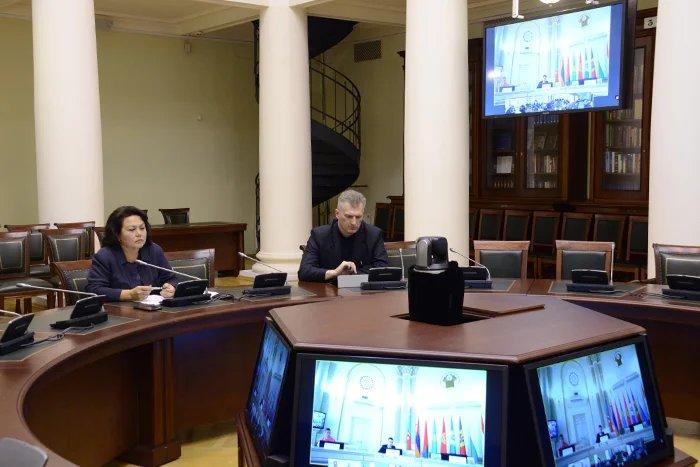 Секретариат Совета МПА СНГ принял участие в обсуждении Соглашения об организованном наборе трудовых мигрантов
