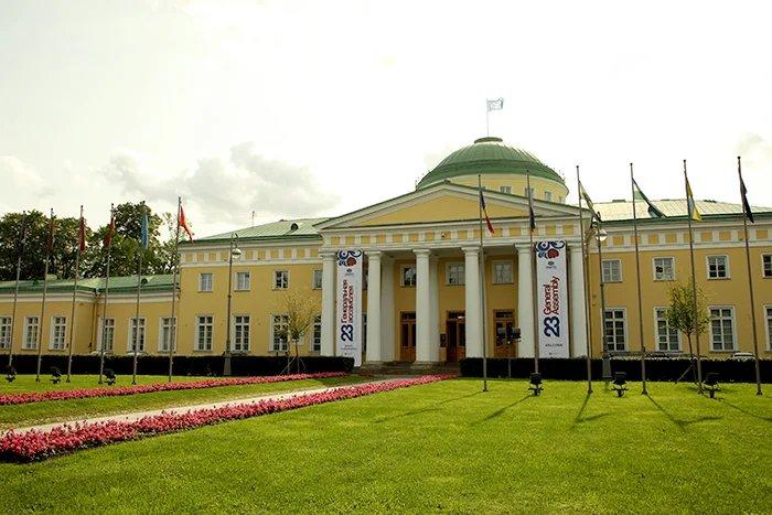 Таврический дворец принимает участников Генеральной ассамблеи Всемирной туристской организации