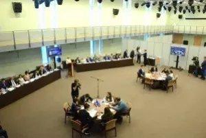 В Парламентском центре МПА СНГ прошли научные дебаты по вопросам развития демократии
