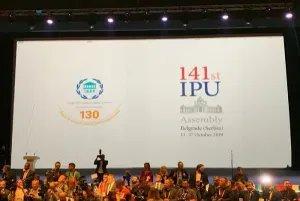 Делегация МПА СНГ принимает участие в 141-й Ассамблее МПС