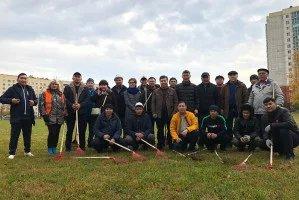 Нурбек Сатвалдиев с активистами кыргызской диаспоры приняли участие в ежегодном Дне благоустройства