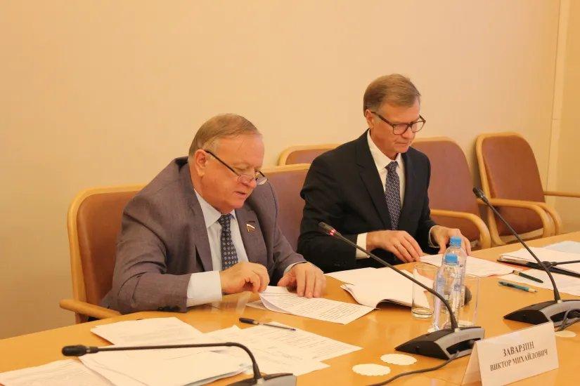 В Таврическом дворце состоялось заседание Постоянной комиссии МПА СНГ по вопросам обороны и безопасности