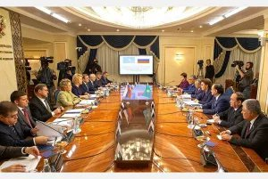 Валентина Матвиенко: Межпарламентские контакты России и Казахстана динамично развиваются