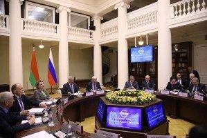 Сессия Парламентского Собрания Союза Беларуси и России начала свою работу в Таврическом дворце