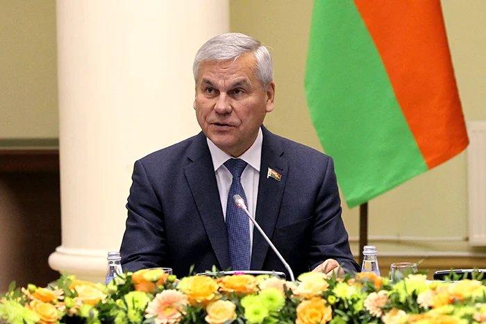 Владимир Андрейченко переизбран на пост Председателя Палаты представителей Национального собрания Республики Беларусь