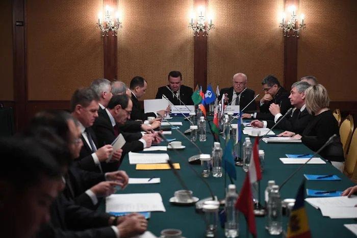 В Москве прошло 84-е заседание Экономического совета СНГ