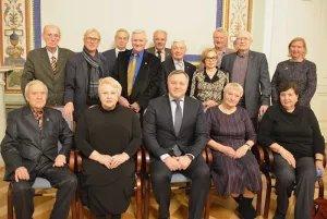 Дмитрий Кобицкий провел встречу с Советом ветеранов Секретариата Совета МПА СНГ