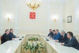 Полномочный представитель Парламента Республики Молдова Ион Липчиу в составе президентской делегации принял участие во встрече с Губернатором Санкт-Петербурга