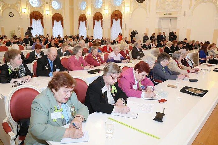 В Санкт-Петербурге начал работу XXVIII съезд Международной ассоциации общественных организаций блокадников