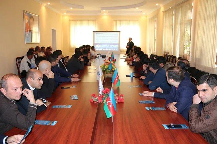 Бакинский филиал МИМРД МПА СНГ провел в городе Мингечаур семинар для местных наблюдателей