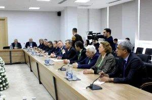 Мониторинговая группа МПА СНГ обсудила ситуацию с выборами в Милли Меджлис с представителями политических партий