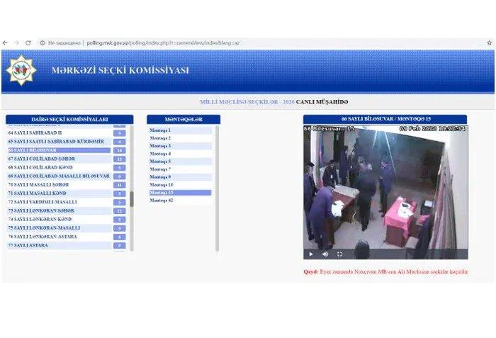 Наблюдатели от МПА СНГ провели онлайн-мониторинг голосования на избирательных участках в различных районах Азербайджанской Республики