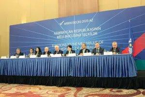Миссия наблюдателей от СНГ подвела итоги мониторинга парламентских выборов в Азербайджанской Республике