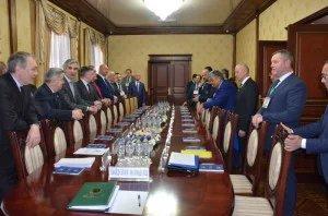 Наблюдатели от МПА СНГ встретились с Председателем Маджлиси милли Маджлиси Оли Республики Таджикистан Махмадсаидом Убайдуллоевым