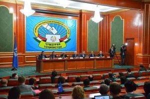 Улугбек Иноятов и Дмитрий Кобицкий приняли  участие в пресс-конференции по итогам мониторинга выборов в Республике Таджикистан