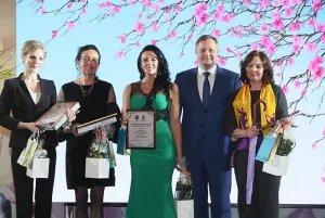В Таврическом дворце прошла церемония награждения победительниц конкурса «Женщина года —2020»