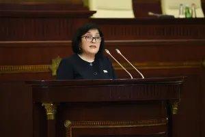 Сагиба Гафарова избрана новым Председателем Милли Меджлиса Азербайджанской Республики