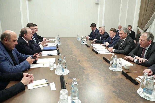 Вячеслав Володин: Совместное законотворчество позволит принести мир на украинскую землю