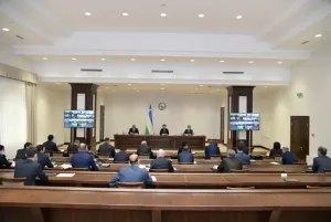 Сенаторы Олий Мажлиса Республики Узбекистан направили средства на борьбу с коронавирусом
