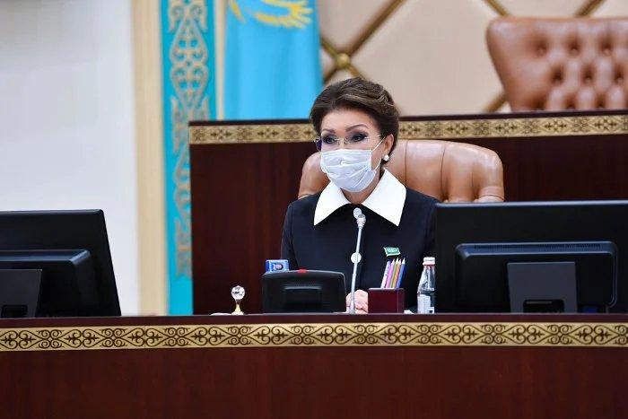 Дарига Назарбаева поблагодарила казахстанский народ за сплоченность в период кризиса