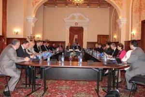 Наблюдатели от МПА СНГ провели координационное совещание в  Киеве