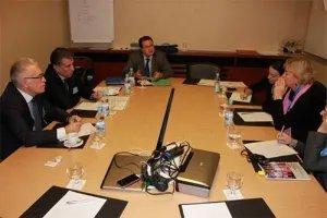 Наблюдатели от МПА СНГ Зияфат Аскеров и Алексей Сергеев встретились в Киеве с коллегами из Парламентской Ассамблеи ОБСЕ