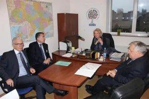 Зияфат Аскеров и Алексей Сергеев обсудили выборы в Верховную Раду Украины с главой миссии наблюдателей БДИПЧ ОБСЕ