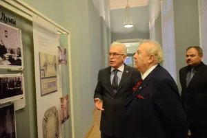 Zurab Zereteli visits the Tavricheskiy Palace