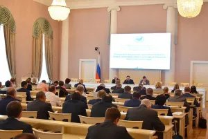 Ecological challenges discussed in the Tavricheskiy Palace