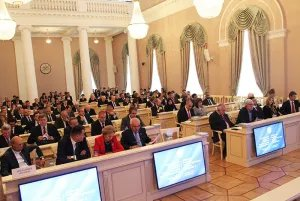 Tavricheskiy Palace hosts the International Conference on the End of World War II