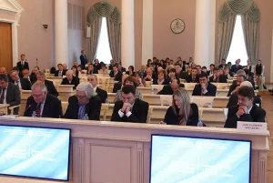 Sergey Naryshkin welcomes the participants of the Conference