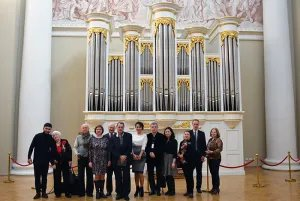 Tavricheskiy Palace welcomes participants of the international theater festival of the CIS and the Baltic Region