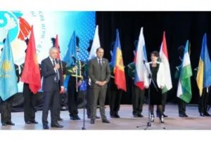 Kiyomiddin Miraliyon Takes Part in Opening Ceremony of 14th CIS Youth Delphic Games