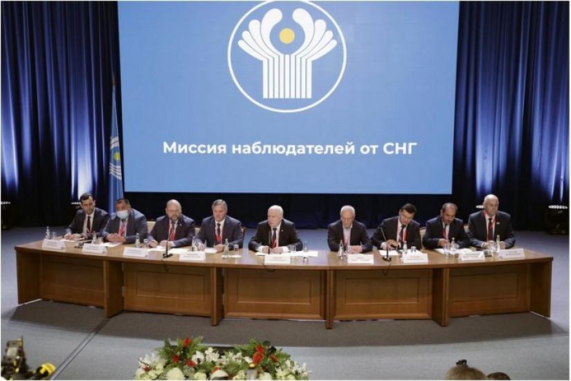 Миссия наблюдателей от СНГ подвела итоги мониторинга президентских выборов в Республике Беларусь
